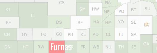 Furnas County Map